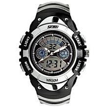 [100% Genuine] 2017 New Fashion SKMEI 0998 Children Sports Watches LED Digital Quartz Military Watch Boy Girl Student Multifunctional Wristwatches