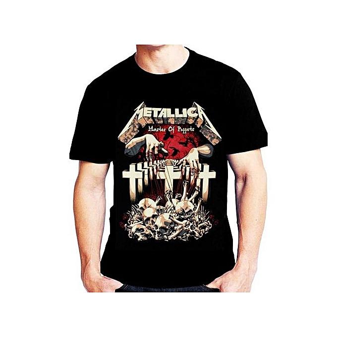 439b9a532 Metallica Master Of Puppets Mens T Shirt Loose Short Sleeve Summer Fashion  Men's T-shirt