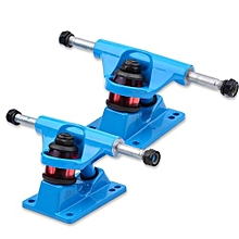 2pcs Skateboard Trucks Combo 3.25inch Skatebaord (Blue)