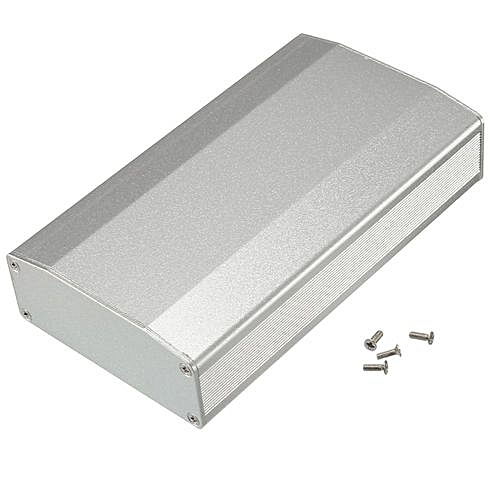 Aluminum Box Circuit Board Enclosure Case Project Electronic DIY  110*64*25 5MM Silver