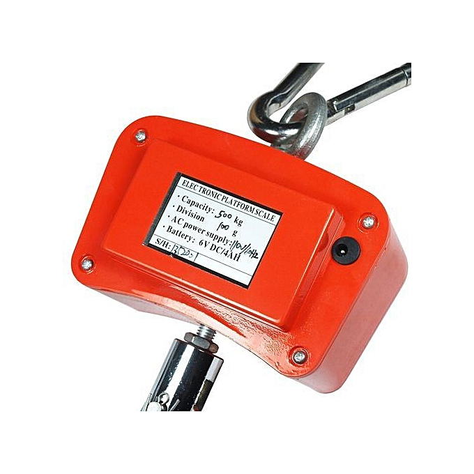 3150206067a6 Digital Scale Hanging 500kg / 1100lbs Portable Electronic Crane Heavy Duty