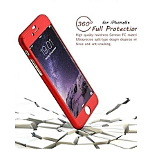 IPhone 6 Plus / 6S Plus 360° full protective Case - Red