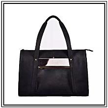 Ladies Makosewe Bag  - Made In Kenya,100% Genuine Leather – Pink  And Blue