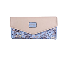 Purple floral Women wallet