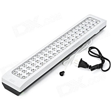 60 LED Rechargeable Lamp - White & Black