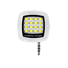 Smartphone Selfie LED Light - White