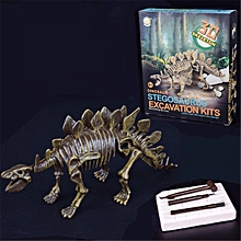 Dinosaur Digging Kit Science Kids Excavation Education Mammoth Skeleton 3D Toy