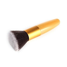 1pc Pink Powder Blush Foundation Brush Cosmetic Makeup Tool Kit GD-Gold