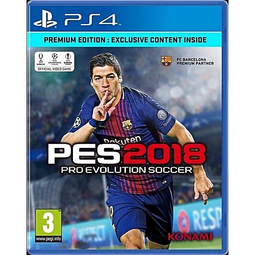 PS4 Pro Evolution Soccer (PES) 2018