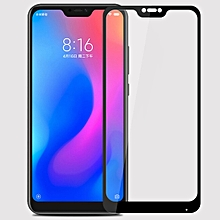MOFI 0.3mm 9H Surface Hardness 3D Curved Edge Tempered Glass Film for Xiaomi Redmi 6 Pro