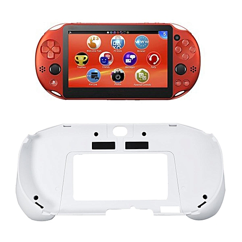 Upgrade L2 R2 Handle Grip Case Cover Protector Trigger Holder for PS Vita  1000 White