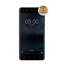 "Nokia 5 – 5.2"" - 16GB ROM – 2GB RAM – 13MP Camera – Dual SIM – Matte Black"