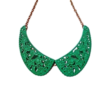 Green Wing Necklace