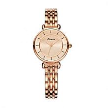Exquisite Ladies Bracelet Luxury Watch KW6028S - Gold
