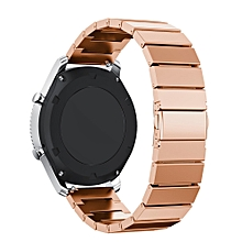 Stainless Steel Watch Band Strap Metal Clasp For Samsung Gear S3 Classic RG