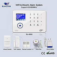2018 Intelligent Smart Home or Office WIFI 3G UMTS wireless Security System