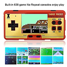 Handheld Children Game Players Built In 638 Classic Kid Games Console Machine 8 Bit Retro TV Video