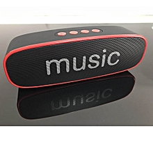 SC212 Bluetooth Speaker Mobile Wireless Car Audio Smart Portable Outdoor Subwoofer Speaker Support TF Card /Speaker