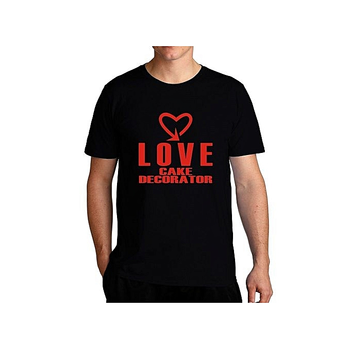 Fashion Love Cake Decorator Cool Style Fashion Cool T Shirt For Men
