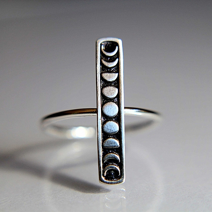 High Quality Personalized Ring Full Moon Rings Jewelry