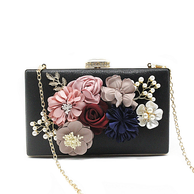 8dfeb8917776 singedan shop Women s Flower Clutches Evening Bags Handbags Wedding Clutch  Purse