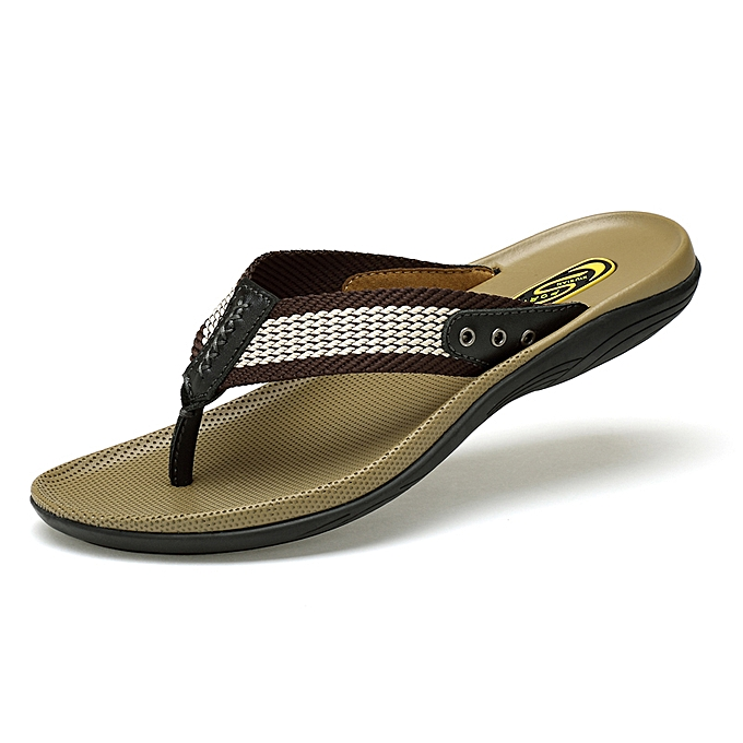 Breathable Men's Flip With Flops Casual Slippers Arch Support N80OnPkwX