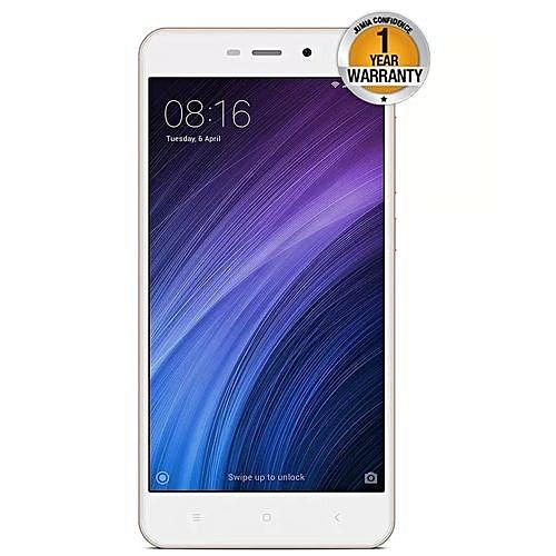 Xiaomi Redmi 4A - 32GB - 3GB RAM - 13MP Camera - 4G LTE - Dual SIM- Gold