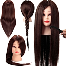 24 inch Blonde Training Hairdressing Cut Head Mannequin + Clamp