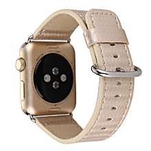 Carbon Fiber Leather Strap Replacement Watch Band For Apple Watch 38mm GD