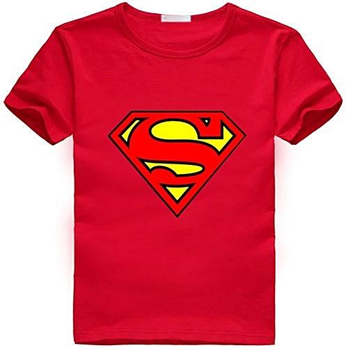 Buy kidsworld Boys Tshirt Superman hero   Best Price   Jumia Kenya 394580e77f