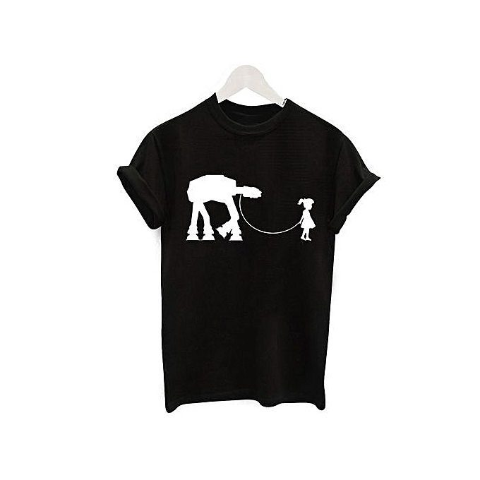 01372038fbd2 Generic Camel Pattern Personalized Letters Printed T-shirt   Best ...