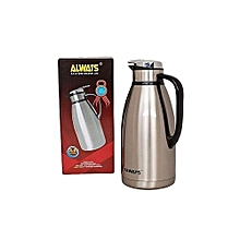 Stainless Steel Thermos Flask Jug - 3 Litres - Silver