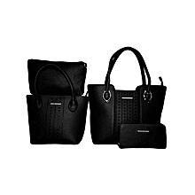 Ladies leather handbag 3in 1