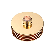 1pcs 25mm Heat Sink Adaptor 510 Finned Heat Sink For 25mm Rebuildable Atomizers Mod Gold