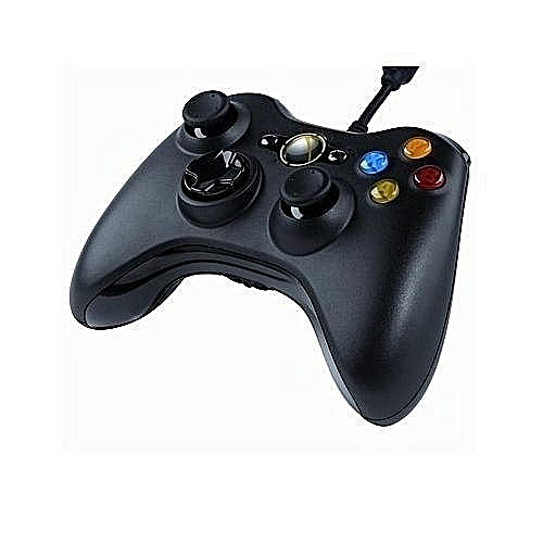 Xbox 360 Wired Game Pad/Pc - Black