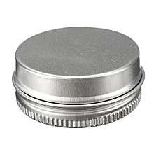 Empty Cosmetic Pot Lip Balm Jar Tin Container Screw Lid 15ml