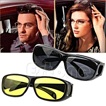 Night Optic Vision Driving Unisex Anti Glare HD UV Protection Sunglasses