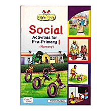 Little Birds Social Activities for Pre-Primary 1 Nursery