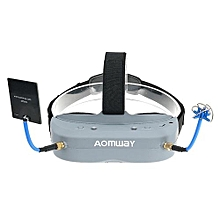 Aomway Commander Goggles V1 2D 3D 40CH 5.8G FPV Video Headset Support HD Port DVR Headtracker