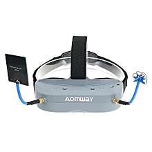 Aomway Commander Goggles V1 2D 3D 40CH 5.8G FPV Video Headset Support HD Port DVR Headtracker