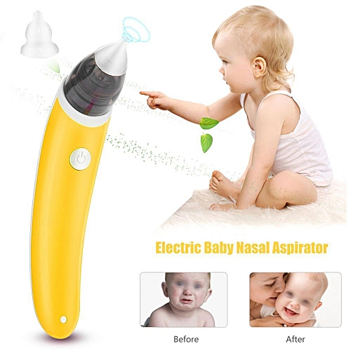 Generic New 2 Colors Electric Baby Nasal Aspirator Nose Cleaner Snot