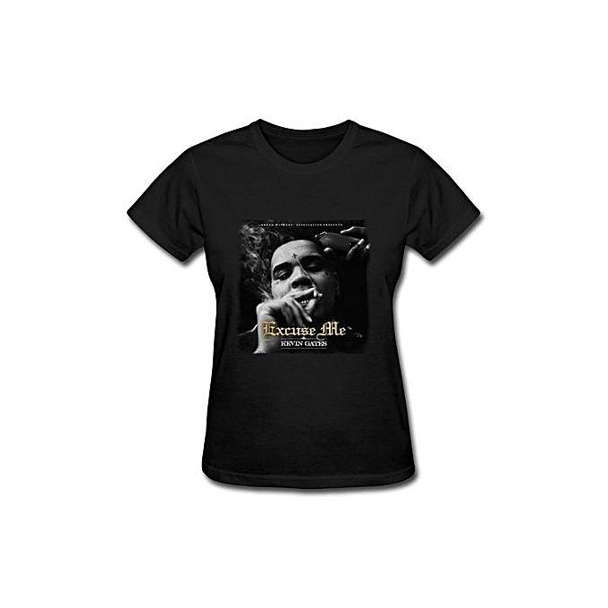 Buy Generic Excuse Me Single Kevin Gates Women S Slim T Shirt Best