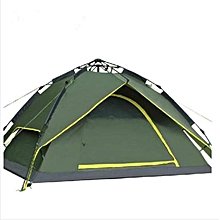Backpack Car Camping Tent for 2-3 Persons Automatic Instant Self Pop Up Tent Army Green