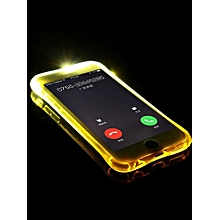 Cool LED Flash Reminder TPU Case for iPhone 5/ 6/ 6s / 6 plus/ 6s plus____IPHONE7____pink