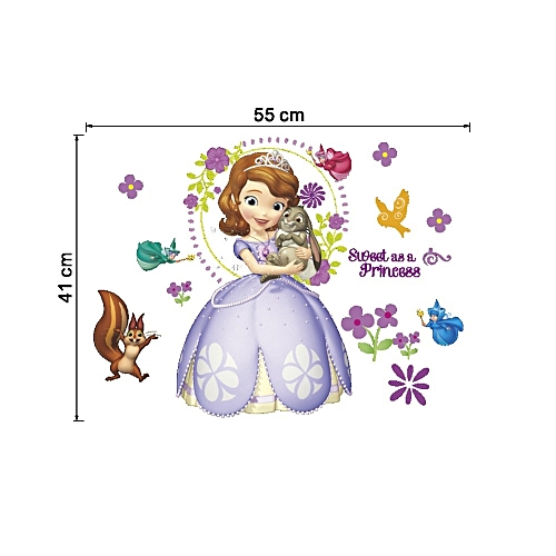 Sophia the first wall stickers