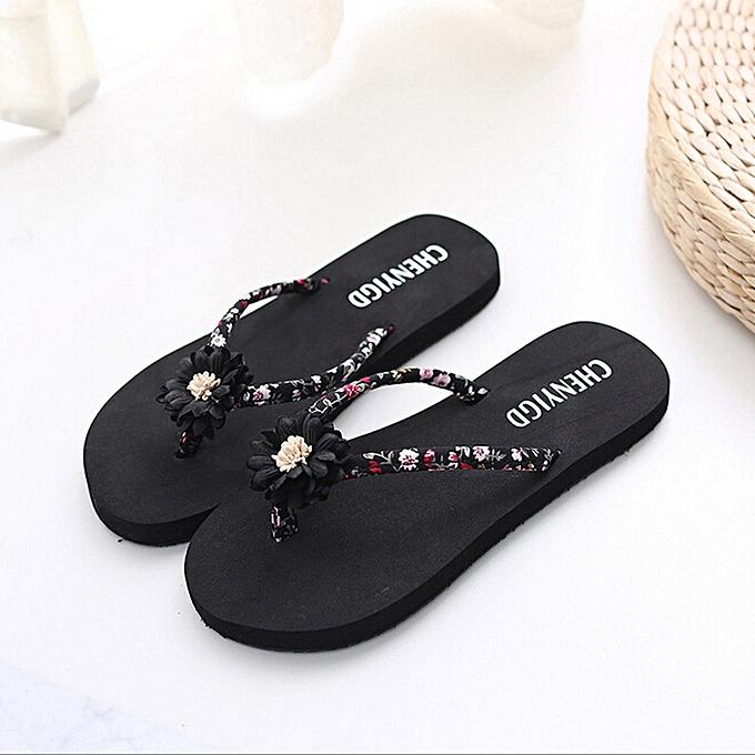 b6a331feca09a Ladies Slim Women Beach Flip Flops Flipflops Sandals Shoes Bath Slippers  Sandals