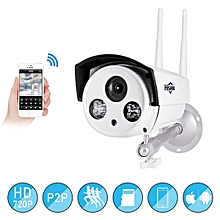 Hiseeu 720P 1.0MP WiFi IP P2P Camera Bullet Outdoor SD Card Storage CCTV Surveillance IR Camera UK