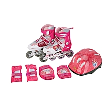 Adjustable inline skates shoes - girls