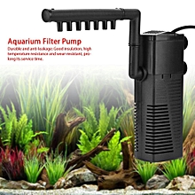 7adb328e8 5W Aquarium Fish Tank Filter Submersible Pump Flow Spray Increasing Oxygen  UK Plug 220-240V