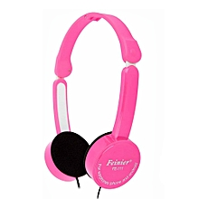 Hiamok_Feinier FE-111 Kids Bass Stereo Headset Wired With Mic For Iphone For Android